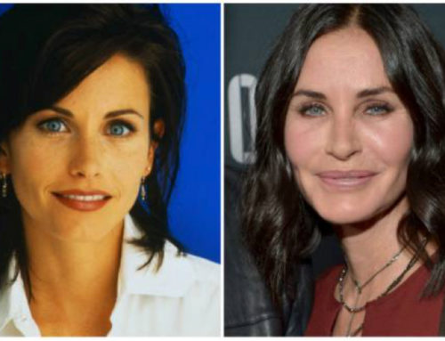 COURTENEY COX & HAND OF GOD & HAND OF DOC